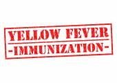 YELLOW FEVER IMMUNIZATION — Stock Photo