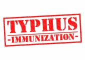 TYPHUS IMMUNIZATION — Stock Photo