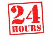 24 HOURS — Stock Photo