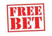 FREE BET — Stock Photo
