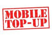Mobilní Top-Up — Stock fotografie