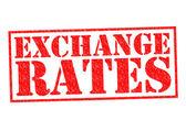 EXCHANGE RATES — Stockfoto