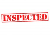 INSPECTED — Stock Photo