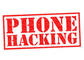 PHONE HACKING — Stock Photo
