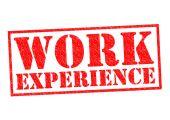 WORK EXPERIENCE — Stock Photo