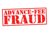 ADVANCE-FEE FRAUD — Stock Photo