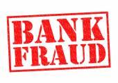BANK FRAUD — Stock Photo