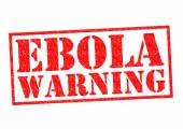 Ebola uyarı — Stok fotoğraf