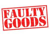 FAULTY GOODS — Stock Photo