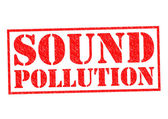 SOUND POLLUTION — Stock Photo