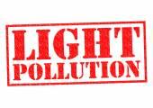 LIGHT POLLUTION — Stock Photo