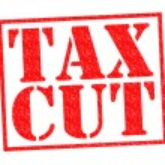 снижение налогов — Стоковое фото #58002547