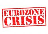 EUROZONE CRISIS — Stock Photo