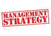 MANAGEMENT STRATEGY — Stock Photo