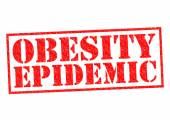 OBESITY EPIDEMIC — Stock Photo