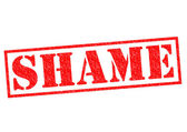 SHAME — Stock Photo