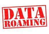 DATA ROAMING — Stockfoto