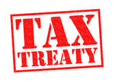 TAX TREATY — Stock Photo