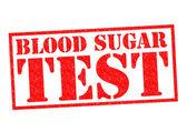 Blutzucker-test — Stockfoto