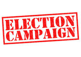 ELECTION CAMPAIGN — Stock Photo