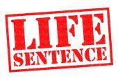 LIFE SENTENCE — Stock Photo