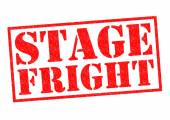 STAGE FRIGHT — Stock Photo