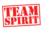 TEAM SPIRIT — Stock Photo