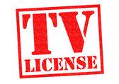 TV LICENSE — Stock Photo