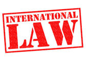 INTERNATIONAL LAW — 图库照片