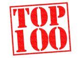 Topp 100 — Stockfoto
