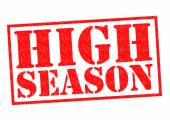 HIGH SEASON — Stock Photo