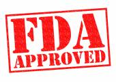FDA APPROVED — Stock Photo