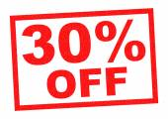 30 Percent  OFF — Stock Photo