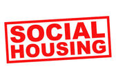 SOCIAL HOUSING — Stock Photo