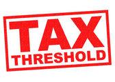 TAX THRESHOLD — Stock Photo