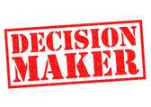 DECISION MAKER — Stock Photo