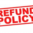 Постер, плакат: REFUND POLICY