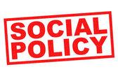 SOCIAL POLICY — Stock Photo