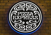 Pizza Express Restaurant — Stock Photo