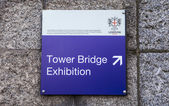 Tower Bridge Exhibition in London — Fotografia Stock