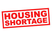 HOUSING SHORTAGE — Stock Photo