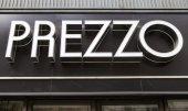 Prezzo Restaurant Sign — Stock Photo