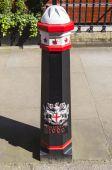 City of London Bollard — Stock Photo