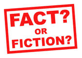 FACT OR FICTION? — Stock Photo