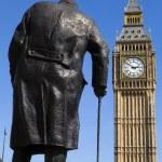 Sir Winston Churchill Statue in London — Stock Photo #70941359