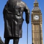 Sir Winston Churchill Statue in London — Stock Photo #70941363