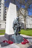 Korean War Memorial in London — Stock Photo