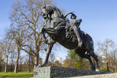 Physical Energy Statue in Kensington Gardens in London — Stock Photo