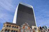 20 Fenchurch Street Skyscraper (Walkie Talkie Building) — Stock Photo