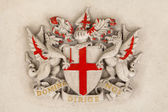 City of London Crest — Stock Photo